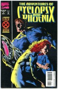 ADVENTURES of CYCLOPS & PHOENIX #1 2 3 4, VF+, 1994, 4 issues, X-men, Gene Ha