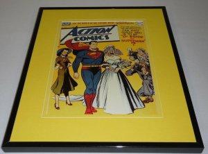 Action Comics #143 DC Framed 11x14 Repro Cover Display Superman Bride