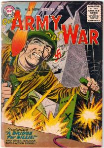 Our Army At War #43 (Feb-56) VG+ Affordable-Grade