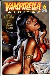 Vampirella Strikes #6 1996- Ash Can Preview Edition-Louis Small Jr-NM