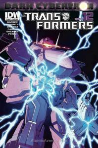 Transformers, The: Dark Cybertron Finale #1B VF/NM; IDW | save on shipping - det