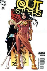 Outsiders (2009 series) #16, NM (Stock photo)