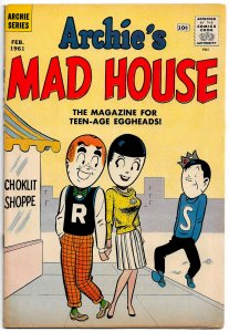 ARCHIE'S MAD HOUSE #10 ( Feb 1961) 6.0 FN  Rapid-Fire Jokes and Satires