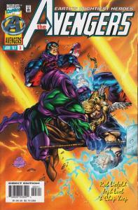 Avengers (1996 series) #3, NM + (Stock photo)