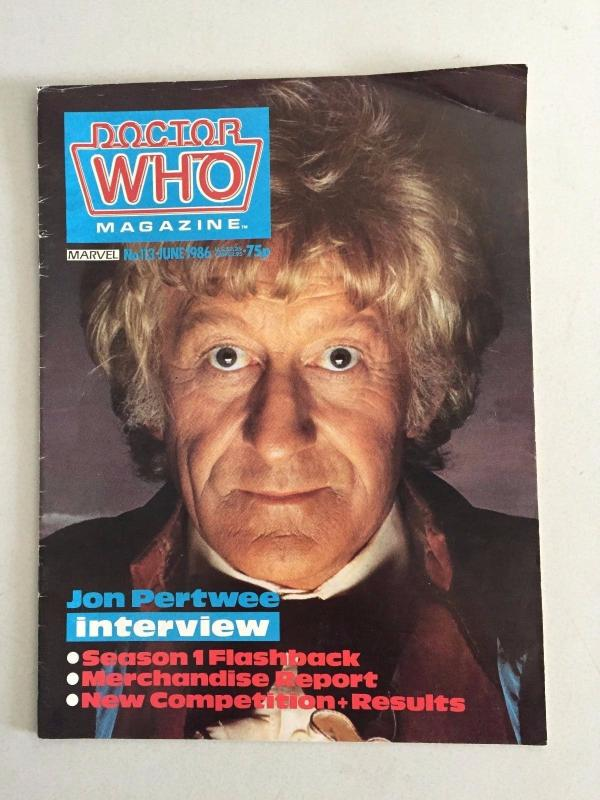 2 Doctor Who Magazines Entertainment Weekly August 3rd 2012 & # 113 Marvel LH27