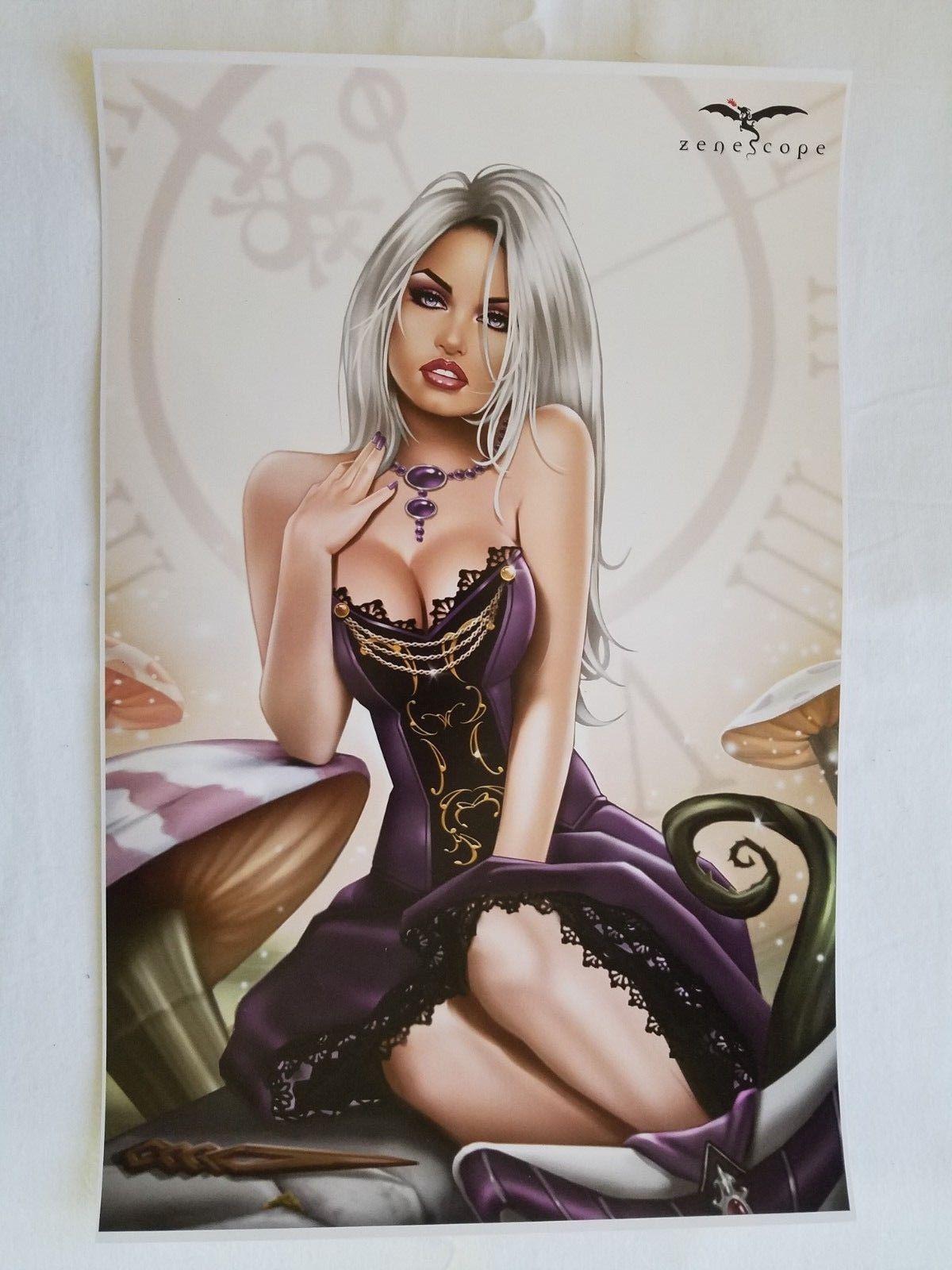 ~ Zenescope 1E cover Revenge of Wonderland #1