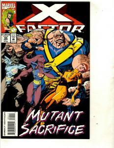 Lot Of 12 Comics X-Factor # 94 95 96 100 108 109 111 112 113 114 115 117  EK7