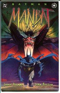 MANBAT #1 2 3, NM+, Batman,  John Bolton, Jamie Delano, 1995, more BM in store