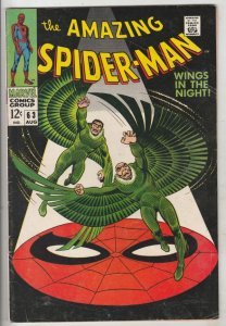 Amazing Spider-Man #63 (Aug-68) VG/FN Mid-Grade Spider-Man