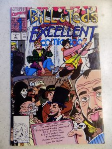 BILL AND TED EXCELLENT COMIC # 1 MARVEL MOVIE HUMOR ADVENTURE
