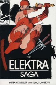 Elektra Saga, The #3 FN; Marvel | save on shipping - details inside