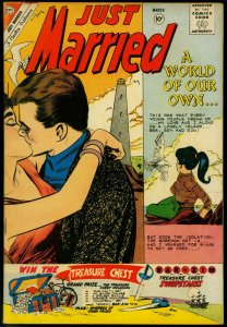 Just Married #18 1961- Spicy Romance Charlton Comic-Lighthouse FN