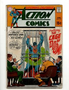 Action Comics # 377 VG DC Comic Book Superman Batman Green Lantern Flash KD1