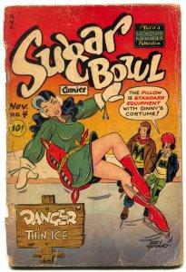 Sugar Bowl  #4 1948-Good girl art cover- headlight FAIR