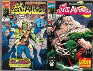 TOXIC AVENGER - Two (2) Issue Lot - #5 and #7 - Marvel Comics