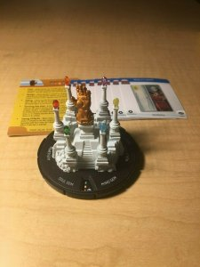 Marvel Heroclix Infinity Gauntlet Dial with Gems and Feat Cards Thanos MFT4