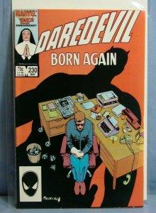 DAREDEVIL #230 Marvel Comics 1986 AUTOGRAPHED FRANK MILLER OLD SCHOOL L@@K!!