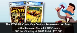 The 76th HipComic One Cent Event