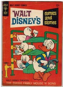WALT DISNEYS COMICS & STORIES 306 GOOD Mar. 1966