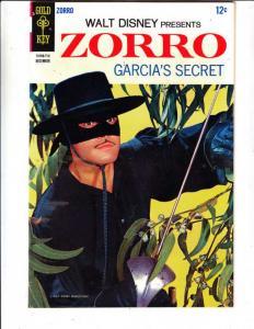 Zorro, Walt Disney Presents #8 (Dec-67) NM/NM- High-Grade Zorro