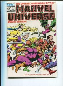 Official Handbook of the MARVEL UNIVERSE #1 2 3 4 5 6, 8, 10 VF/NM, 1985, 8 iss