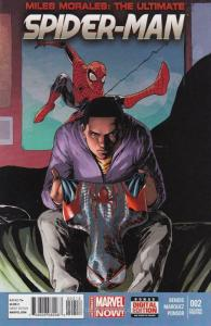 Miles Morales: Ultimate Spider-Man #2 (2nd) VF/NM; Marvel | save on shipping - d