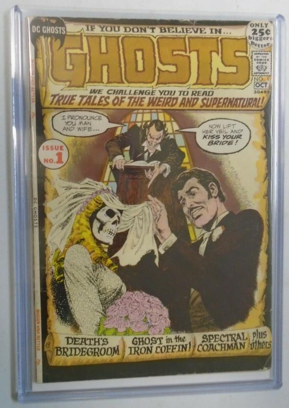 Ghosts #1, 3.5 (1971)