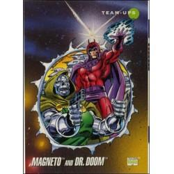 1992 Marvel Universe Series 3 MAGNETO AND DR. DOOM #78