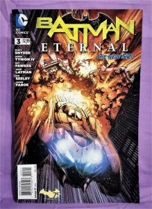 James Tynion IV BATMAN ETERNAL #3 Return of Stephanie Brown (DC, 2014)!