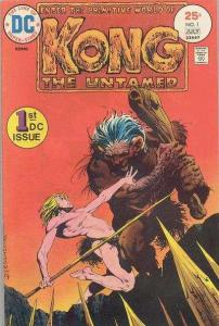 Kong the Untamed #1, Fine+ (Stock photo)