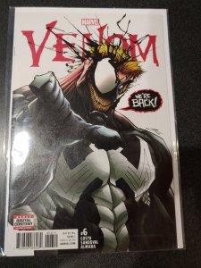 Venom #6 2017 by Marvel Comics - Eddie is Back!