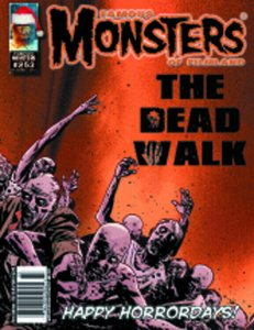 Famous Monsters of Filmland 253 THREE COVERS SET:WALKING DEAD B&W/COLOR& COVER C