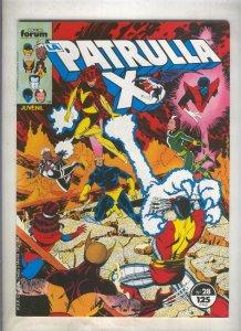 La Patrulla X volumen 1 numero 028: Fenix (numerado 3 en trasera)