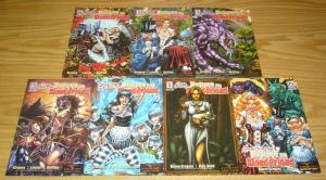 Grimm Fairy Tales: Return to Wonderland #0 & 1-6 VF/NM complete series set lot