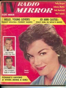 TV Radio Mirror-Connie Francis-Johnny Mathis-Bill Cullen-Sandra Dee-Mar-1959
