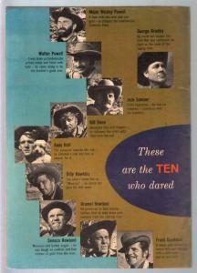 Ten Who Dared-Four Color Comics #1178 1960-Disney-Brian Keith-VF-