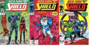 NICK FURY AGENT OF SHIELD (1989) 12-14 The Hydra Affair COMICS BOOK