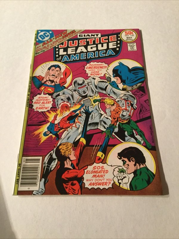Justice League Of America 143 Nm Near Mint Newsstand Edition DC Comics