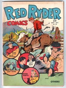 Red Ryder Comics #15 (Sep-43) FN- Mid-Grade Red Ryder