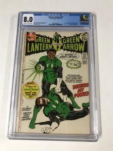 Green lantern (1960's Series) #87 CGC 8.0