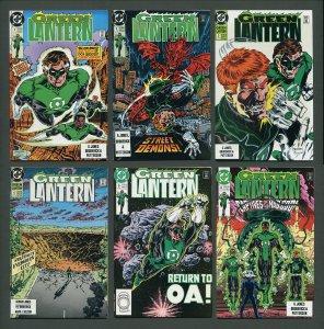 Green Lantern  #1 #2 #3 #4 #5 #6 (SET)  9.4 / 9.6 NM 1990