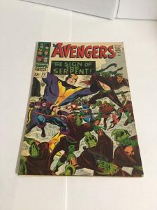 Avengers 32 Vg+ Very Good+ 4.5 Tape On Spine Marvel Comics Silver Age