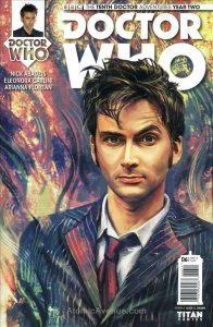 Doctor Who: The Tenth Doctor Year Two #6A VF/NM; Titan | save on shipping - deta