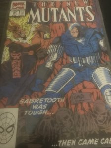 Marvel The New Mutants #91 Mint Feat Cable