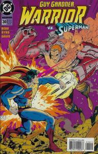 Guy Gardner: Warrior #30 VF/NM; DC | save on shipping - details inside