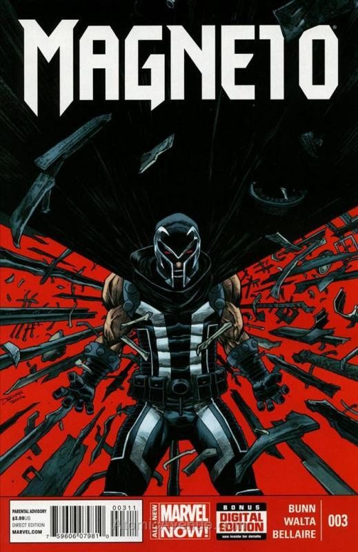 Magneto (4th Series) #3 VF/NM; Marvel | save on shipping - details inside