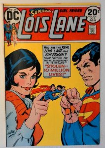 Superman's Girlfriend Lois Lane #134 DC 1973 VF- Bronze Age Comic Book 1st Print