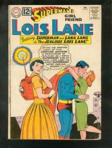 SUPERMAN'S GIRL FRIEND LOIS LANE #31 1962-EMOTION MACHI G