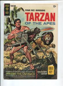 TARZAN #163 1967-GOLD KEY-EDGAR RICE BURROUGHS-NM