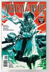 AMERICAN VAMPIRE #15, Ghost War, Vertigo, 2010, NM , 1st printing, more in store